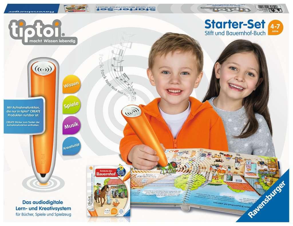 tiptoi niños aprender alemán